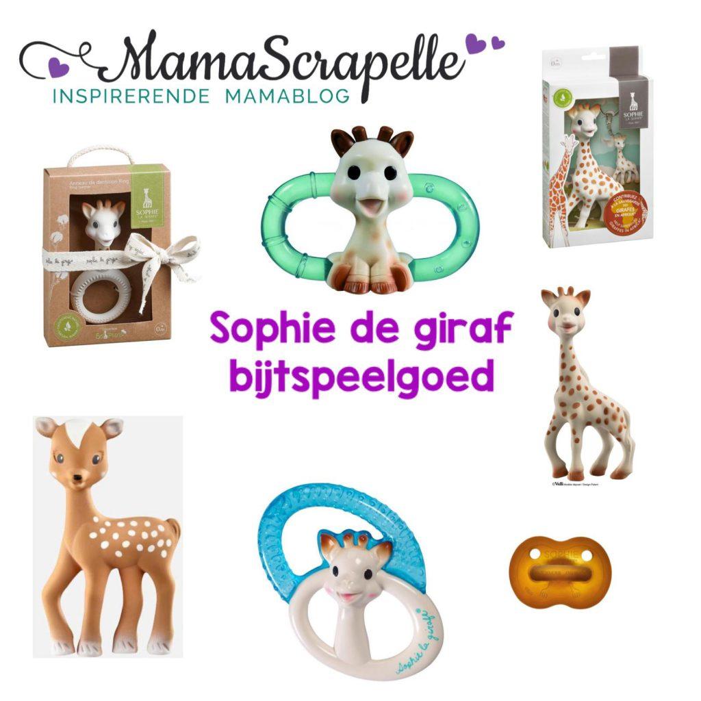Bijtspeelgoed Sophie de giraf