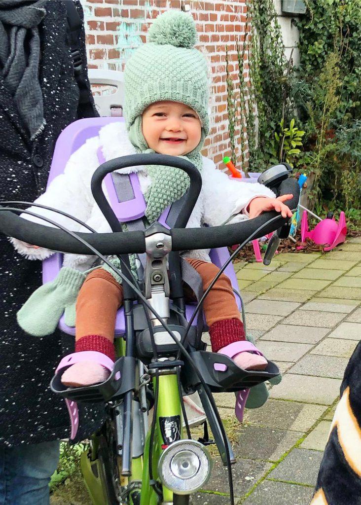 het perfecte fietsstoeltje gwen