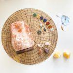 de kracht van edelstenen en mineralen