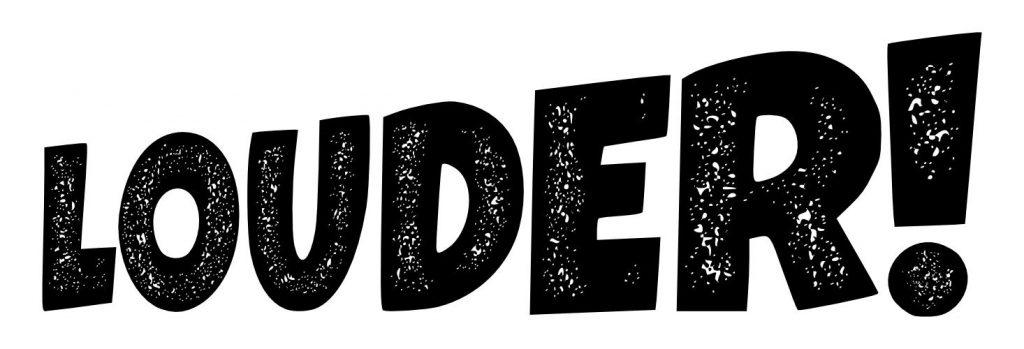 louder logo