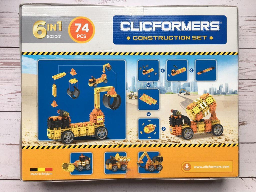clicformers construction set