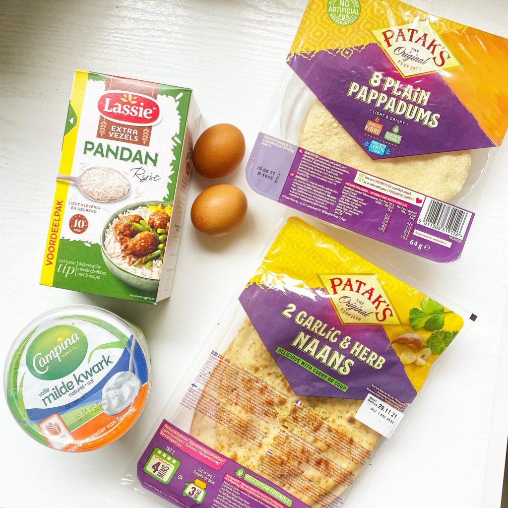 simpele indiase curry