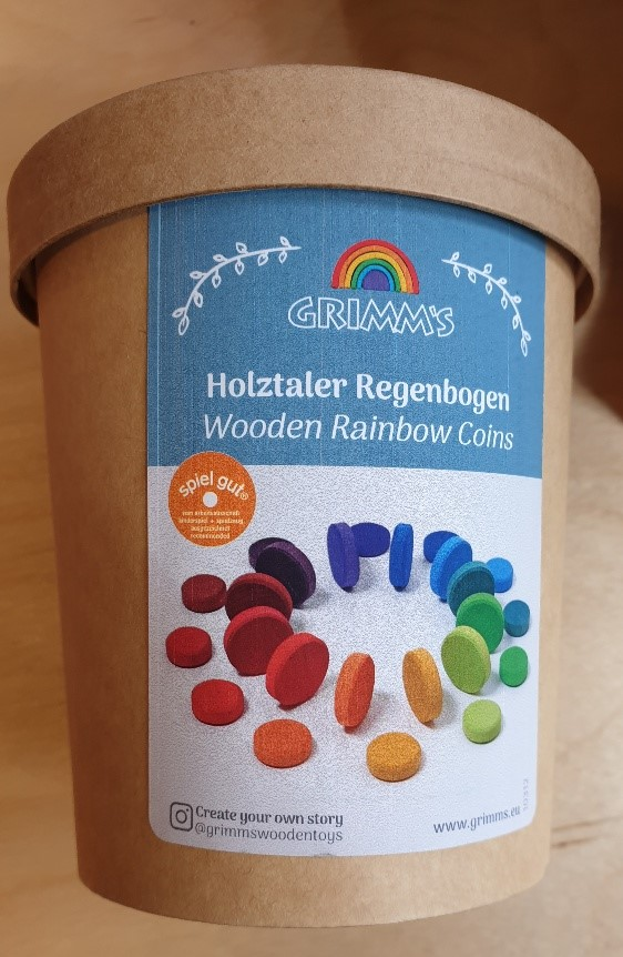 Grimms regenboog stenen