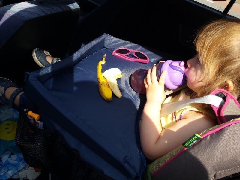 speeltafel voor in de auto