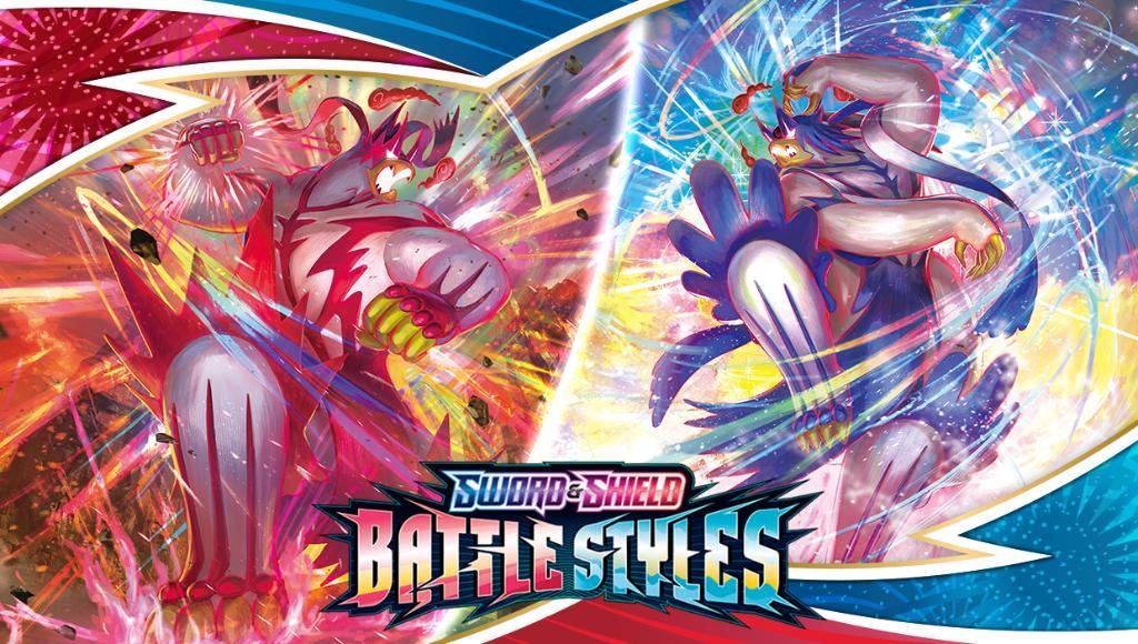 Pokemon Battle Styles rood blauw
