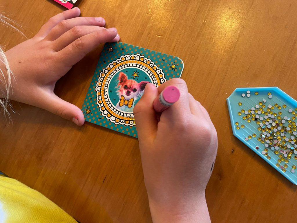 Totum Diamond painting post cards