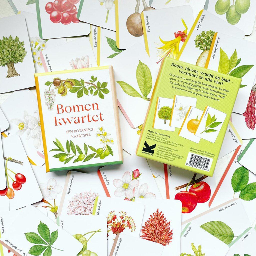 Bomenkwartet, een prachtig botanisch kaartspel