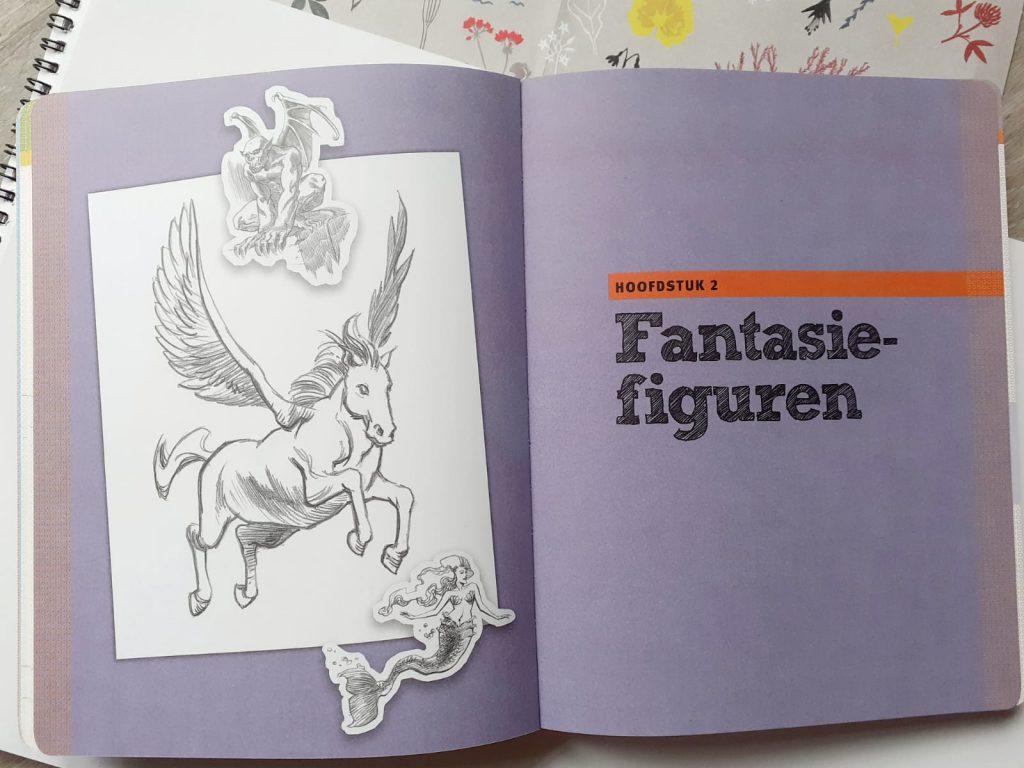 50 dingen om te tekenen fantasie