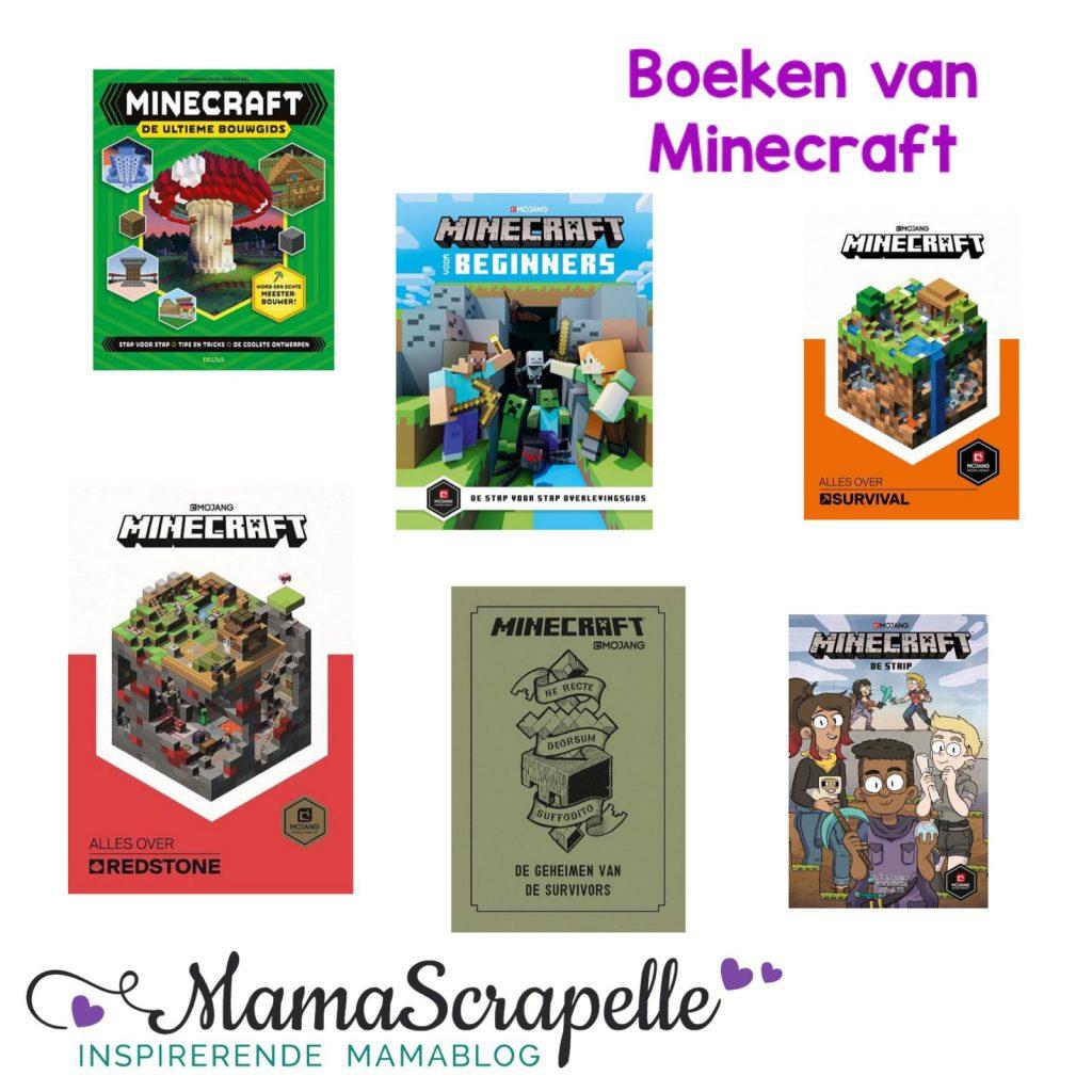 boeken van Minecraft