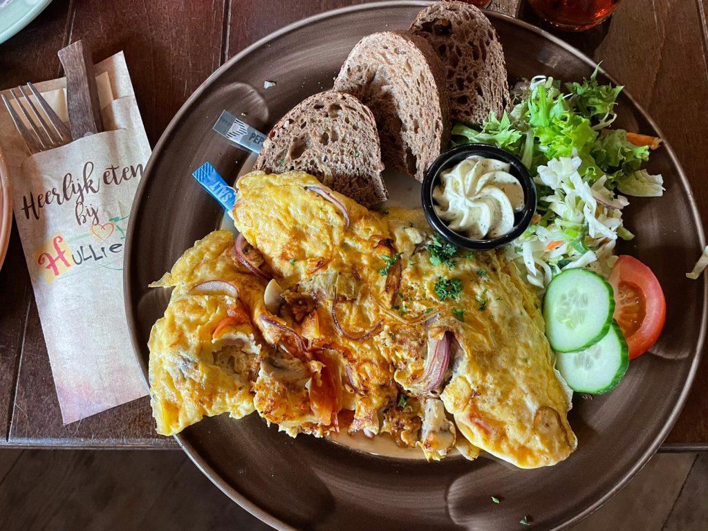 Hullie omelet