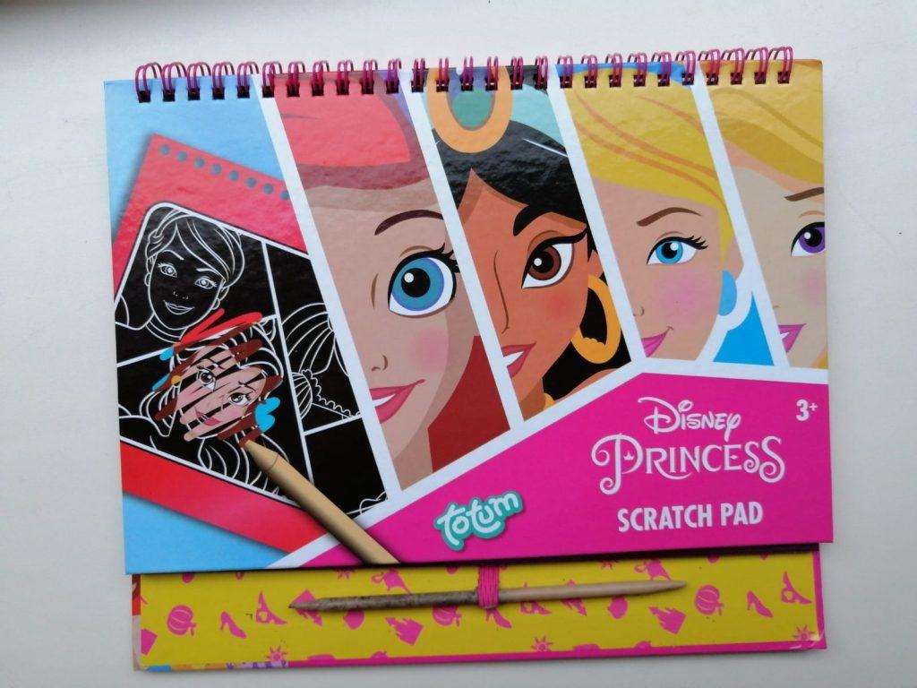 Totum princess scratch book