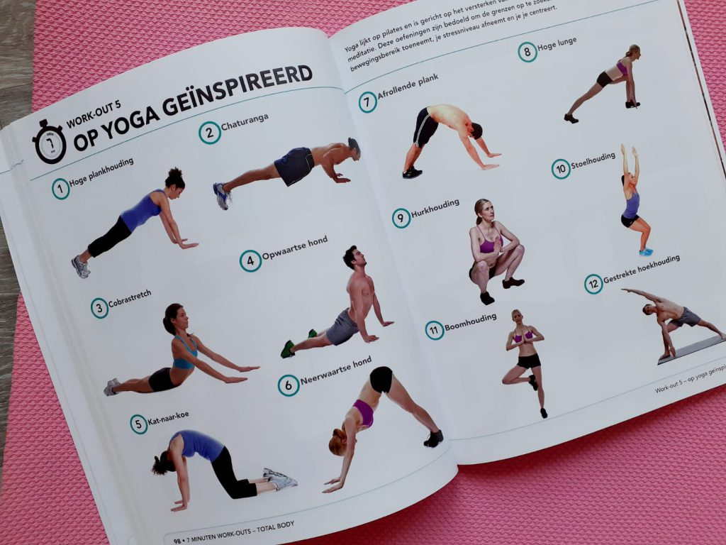 7 minuten work-outs yoga