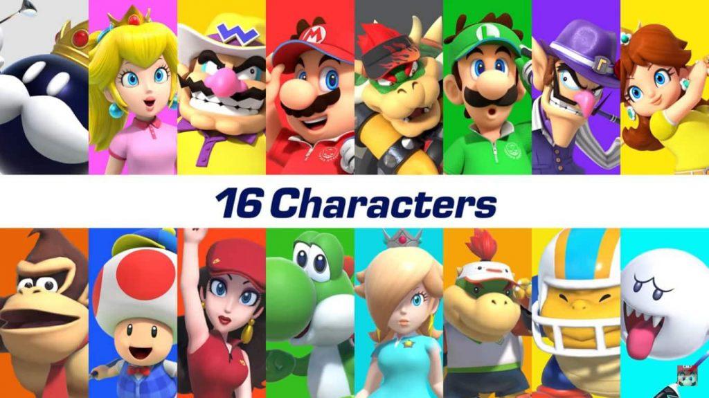 characters mario