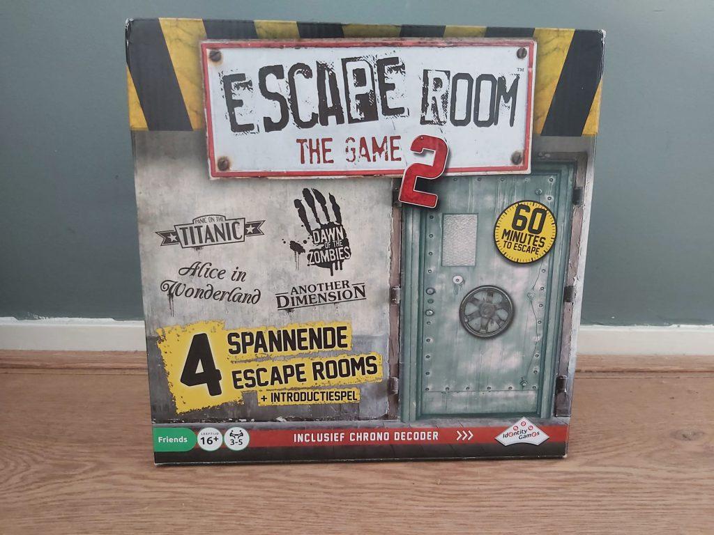 Escape room 2 voorkant