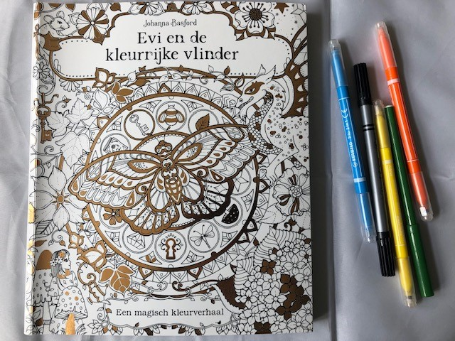 kleurboeken van Johanna Basford