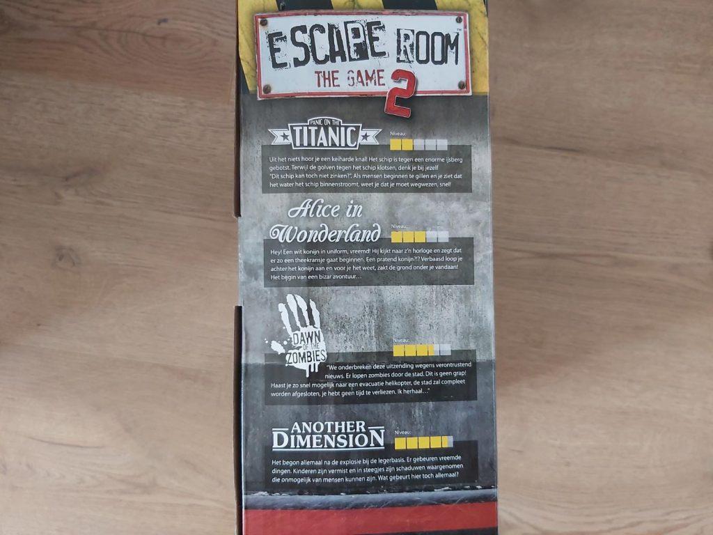 escape room spelen