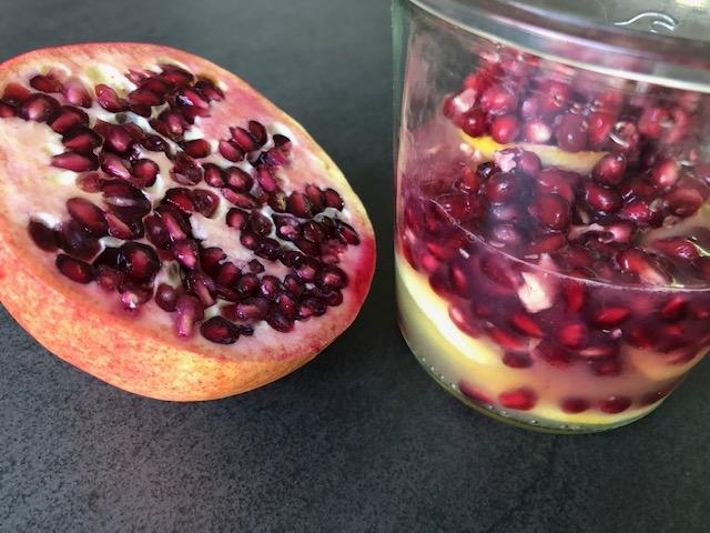 granaatappel-citroenshrub