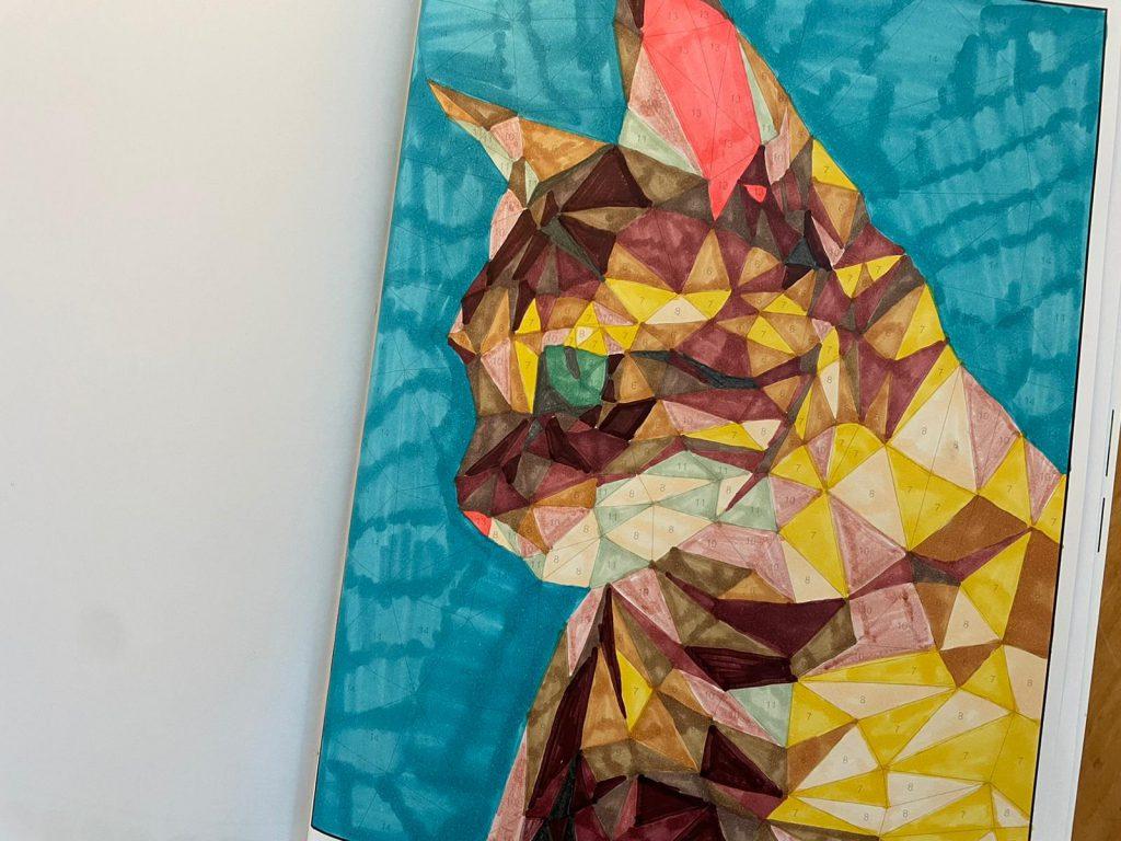 kleurplaat kat