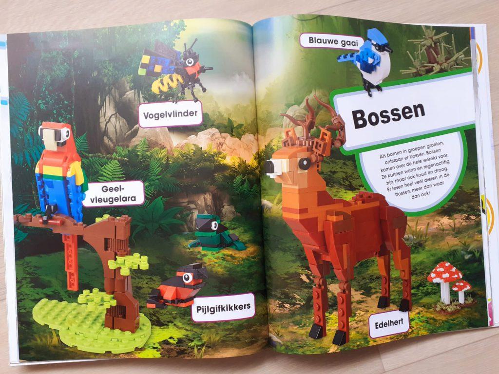 Lego super natuur bossen