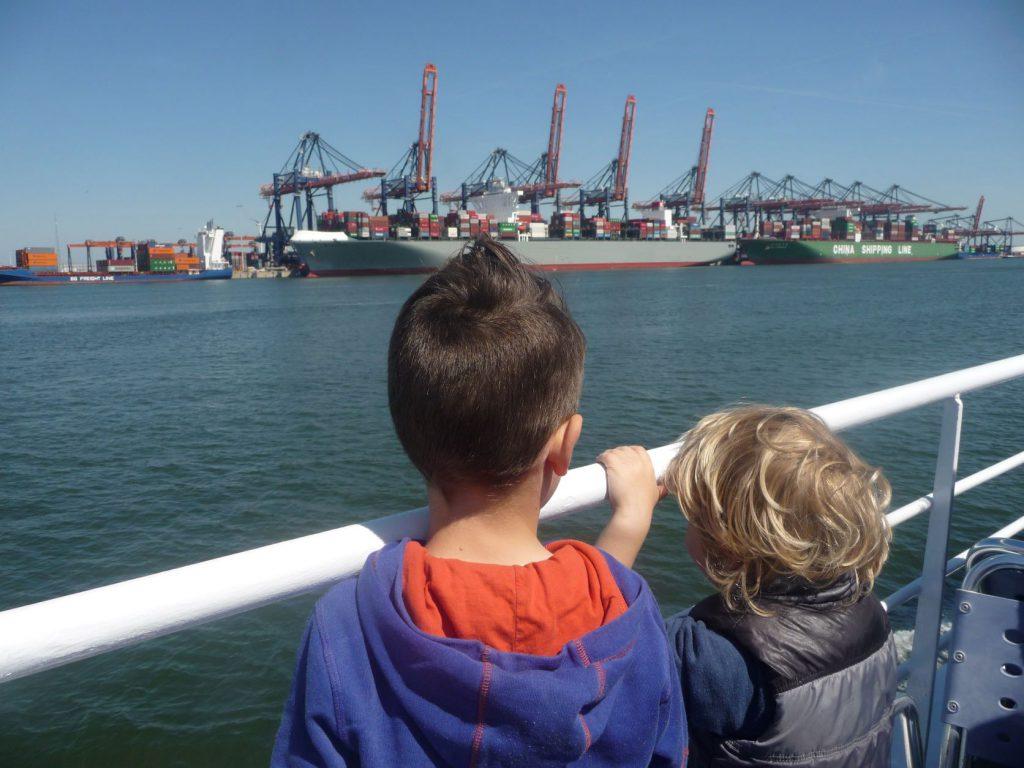 Bezoek Rotterdam met kinderen haven