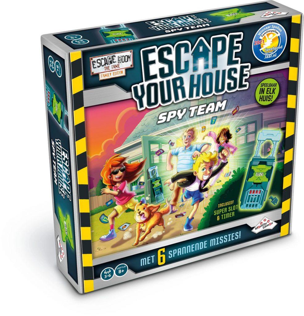 Escape your house speelgoed van het jaar 2021