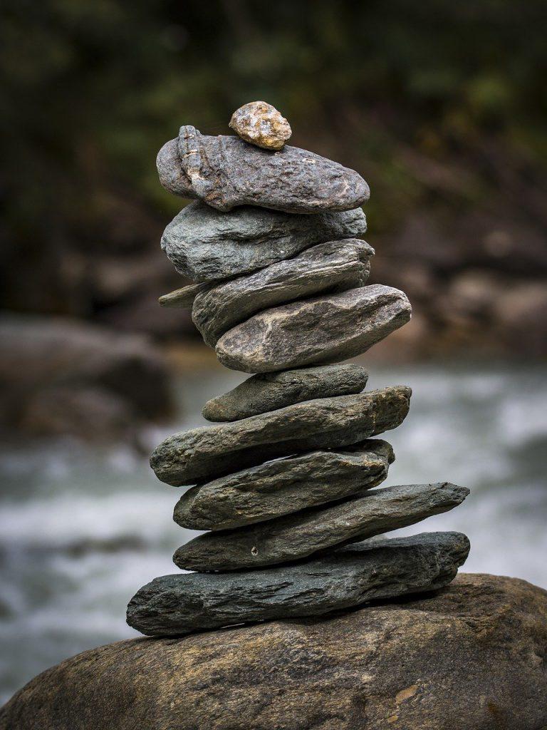 Balans Afbeelding van Denny Franzkowiak via Pixabay