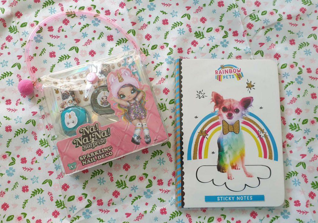 NaNaNa Surprise Nagellak en Rainbow Pets notes