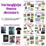 verlanglijstje thema dinosaurus
