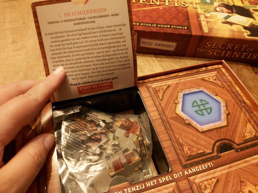 puzzle adventure vakje