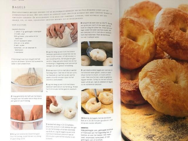 recept bagels